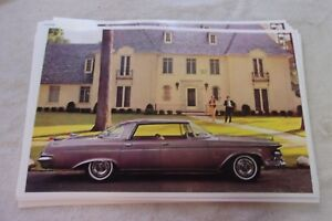 1962 Chrysler Imperial 4dr Hardtop 11 X 17 Photo Picture