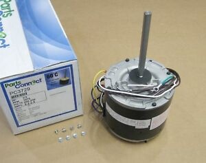 Air Conditioner Condenser Fan Motor 1 3 Hp 230 Volts 1075 Rpm Pc 3729