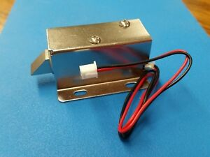 Dc 12v Electric Lock Assembly Solenoid 0 6a