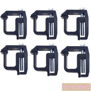 Truck Cap Camper Shell Canopy Mounting Clamps Set Of 6 Tl2002