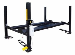 New 9 000 Lbs Hd 4 Post Xlt Truck Auto Lift Extra Long Tall Complete Package