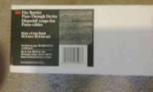 3m Fire Barrier Pass Through Device 4 In 98 0400 5515 8