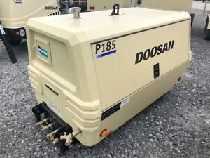 185cfm New Surplus 2018 Doosan P185 Air Compressor