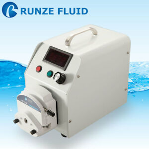 Lcd Display Step Motor Variable Speed Peristaltic Pump Food Grade Silicon Tubing