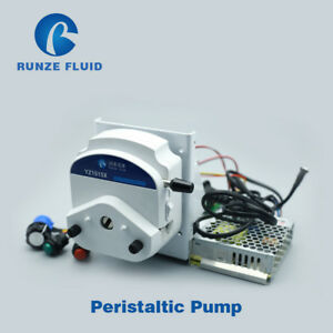 Electric Ac100 240v Speed Control Peristaltic Pump Industrial Liquid Dosing Pump