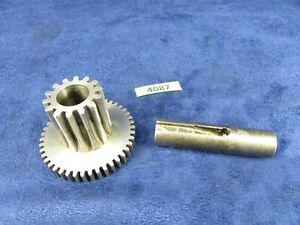 South Bend 9 C Lathe Apron Combo Pinion Gears Mpn As76jnk1 Pt204jnk1 3845