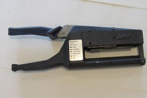 Tyco Amp 91134 1 Latch Hand Crimping Tool Free Shipping