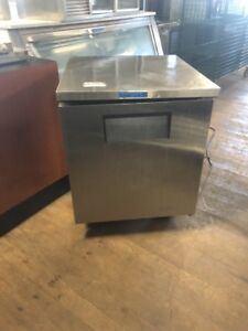 True Tuc 27f Used 27 Undercounter Freezer Commercial Freezer