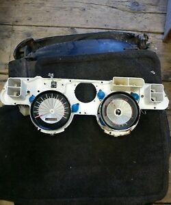 1967 1968 Mercury Cougar Base Instrument Cluster Speedometer And Parts