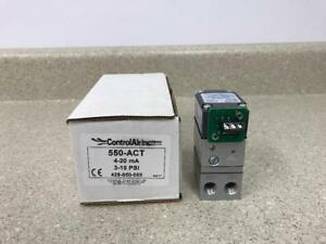 Control Air 550 act Type 550x Electric To Pneumatic Transducer new