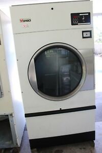 50lb Cissell ipso huebsch speed Queen unimac Dryers Coin 2 Used Dryers