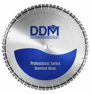 Ddm E3014140 Professional Wet Cutting Cured Concrete 14 Electric Saw Blade New