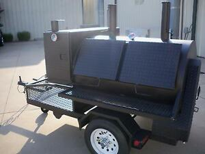 3660 Rotisserie Bbq Grill Smoker Cooker On Trailer By Heartland Cookers