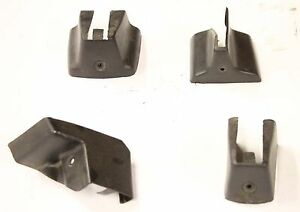 1988 Chevrolet Monte Carlo Ss Oem Right Passenger Side Bucket Seat Track Covers
