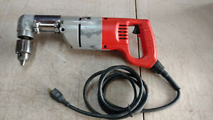 Milwaukee 1007 1 1 2 Heavy Duty Electric Corded Right Angle Drill