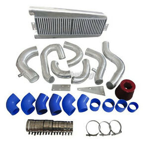 Intercooler Kit Air Intake Kit For 87 93 Fox Body 5 0 Ford Mustang Vortech V3
