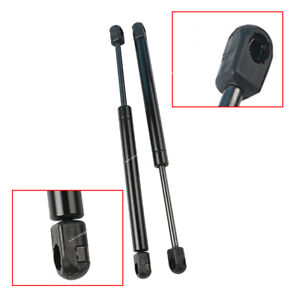 Pair Front Hood Gas Charged Lift Supports Shocks Struts For 2004 14 Nissan Titan