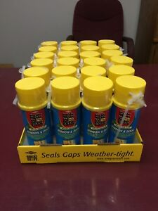 Great Stuff Window And Door Insulating Foam Sealant 12 Oz Can Lot Of 24 Cans