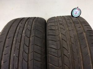 Two 2 Tires Blacklion Champoint Bu66 225 40zr18 Used