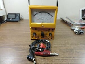 Simpson 260 Series 8 Xi Analog Vom Multimeter W Clamps