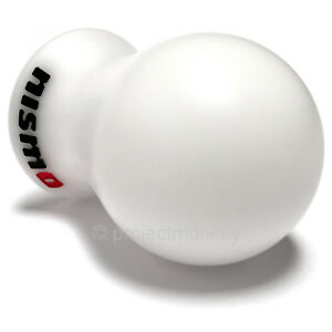 Nismo Shift Knob Shiftknob White Jdm Genuine Fits Infiniti Nissan M10xp1 25