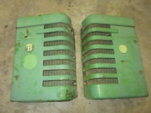 1951 John Deere Radiator Grill Panels Nice Ones Antique Tractor