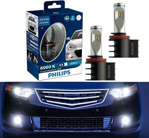 Philips X Treme Ultinon Led Kit 6000k White H8 Light Two Bulbs Drl Cornering Fit