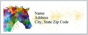 Personalized Address Labels Western Horse Buy 3 Get 1 Free bx 603