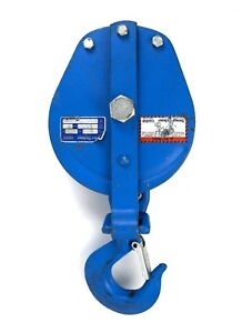 Snatch Block 2t 1 2 Wr Rope 6 Brewer titchener 4083v Cooper Tools Pulley Usa