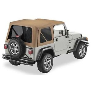 Bestop 51180 37 Replace a top Fabric only Soft Top For For 1992 02