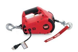 Warn 885000 Portable Winch Pullall 1000 Lb Capacity
