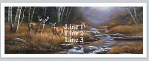 Personalized Address Labels Country Deer Buy 3 Get 1 Free bx 685