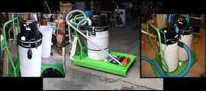 Cordless Industrial Dc Powered Vacuum Cleaner aisle a gator