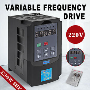 Top 2 2kw 220v 3hp 10a Vfd Variable Frequency Drive Inverter Ce Quality