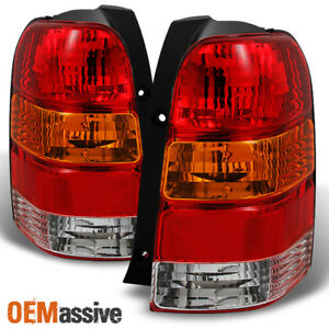 Fits 01 07 Ford Escape Amber Red Tail Lights Lamps Left Right Side Replacement
