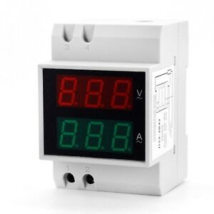 D52 2042 0 5 Inch Led Digit Display Voltmeter Ammeter 2 In 1