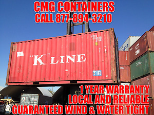 20 Ft Steel Cargo Shipping Storage Container St Louis Mo Missouri Containers