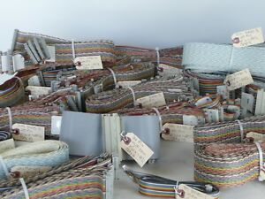 3m Assorted Wire Ribbon Cables With Connectors Lot Of 126 Cables Ref 39903