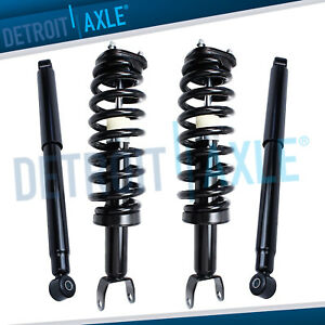 4wd 2006 2008 Dodge Ram 1500 Front Struts W Spring Rear Shocks Kit For 5 Lug