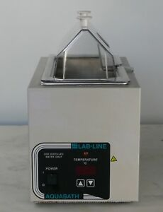 Lab line Aquabath 18002 Heated Water Bath 5l 1 38 Gal Incl Thermometer