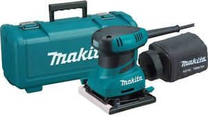 Makita 2 Amp Corded 14 Sheet Finishing Sander Power Tool With Hard Case