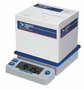 Electronic Digital Usps 10 Lb Desk Top Postal Scale Extra Large Lcd