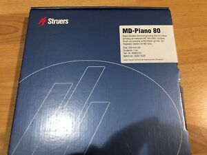 New Md piano 80 Struers 40800121 8 Resin Bonded Diamond Grinding Disc