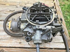 Rochester Carburetor 4 Bbl 1959 1965 Chevrolet Gm 283 327 Used W Tag 7026121