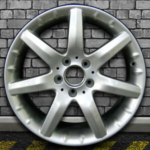 Mirror Silver Oem Factory Front Wheel For 2001 2004 Mercedes Clk55 Amg 17x7 5