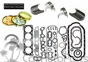Honda Isuzu 2 6l 4ze1 8 valves Sohc New Full Engine Gasket Set re ring Kit