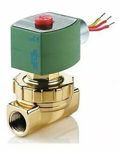 Steam And Hot Water Solenoid Valve 2 way 2 position Valve 120v 8220g406