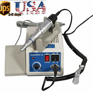 Dental Lab Marathon Micromotor 35k Rpm N3 Strong Handpiece straight contra Angle