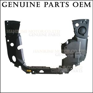 New Oem 2003 2006 Tiburon Coupe 2 7 Engine Room Cover 6pcs Mounting 12 Clips