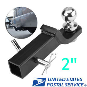 2 Class Iii Loaded Ball Mount Hitch Receiver Trailer For Pickup Truck Suv Us